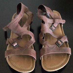 4927f4683e6 Merrell Shoes - Merrell Whisper Buckle Gladiator Sandal - sz 9